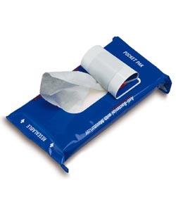 Antibacterial towelettes