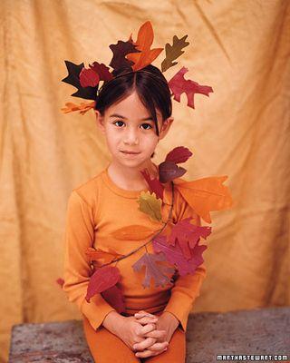 Leaf Halloween Costume