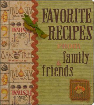 Recipe-scrapbook