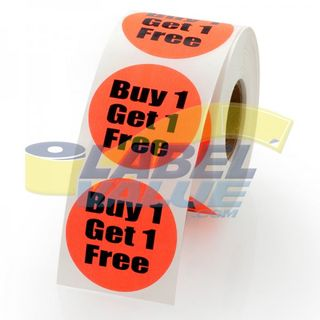 Buy 1 get 1 free labels